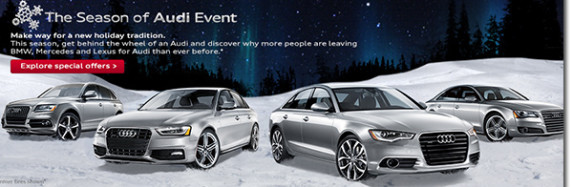 Long Island Audi Dealers Hear Atlantic Audi Announce The Season of Audi Event Has Arrived